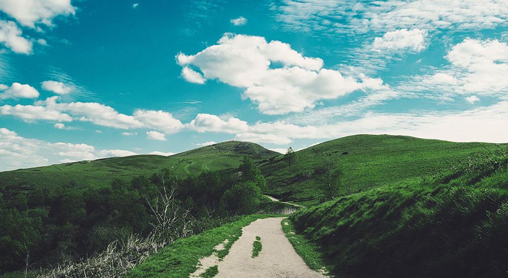 Landscape near Malvern, Worcestershire